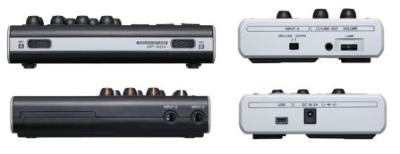 Tascam DP-004 side views
