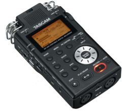 Tascam DR-100 Angle View