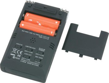 Edirol R-09HR Battery View