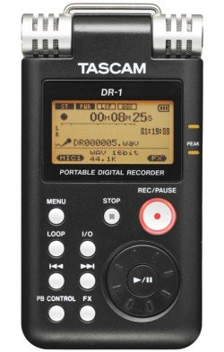 Front View of Tascam DR-1
