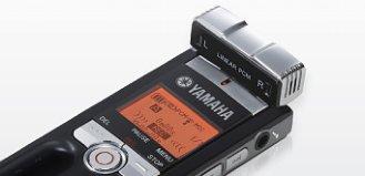 Close Up View of Yamaha Pocketrak Tilting Mic